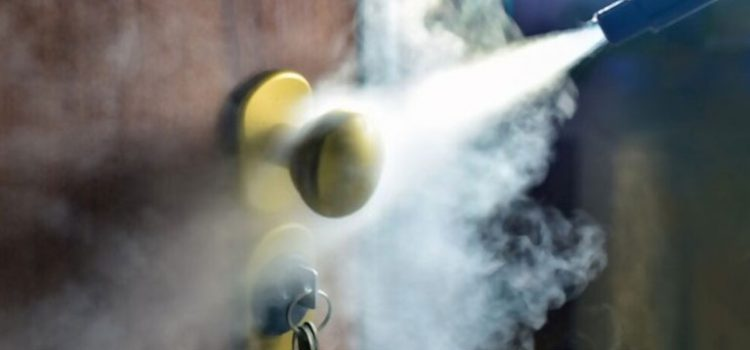 incendio limpieza ozono